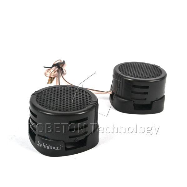 kebidumei Universal Pitch Mini Dome Tweeter Loudspeaker HiFi 2 x 500W Loud  Speaker Super Power Audio Sound Klaxon Tone For Car