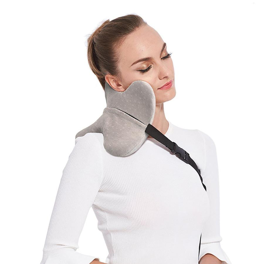 Neck Support Travel Pillow For Airplane Multi Function Car Pillow