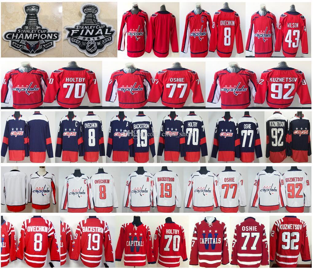 Men Kids Women Stanley Cup Champions Final Patch Washington Capitals ... 6d69f69c8