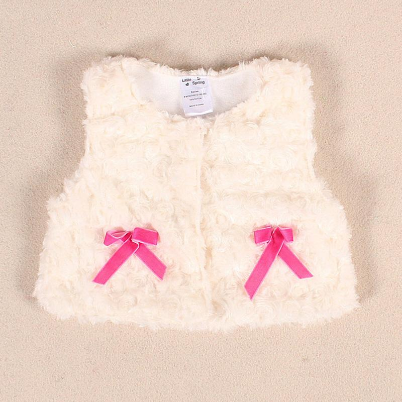 11aff94b5 Baby Girl Jackets Spring Autumn Newborn Baby Velvet Thick Vest ...