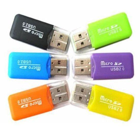USB 2.0 Micro SD card T-Flash TF M2 Memory Card Reader adapter 2gb 4gb 8gb 16gb 32gb 64gb TF Card