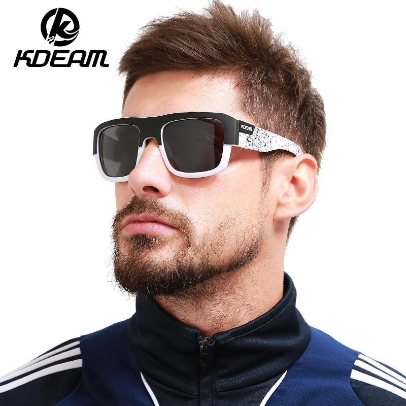 ad6bd811ce Fashion Guy s Sun Glasses From Kdeam Polarized Sunglasses Men Classic  Design All Fit Mirror Sunglass With Brand Box CE Cheap Designer Sunglasses  Sunglasses ...
