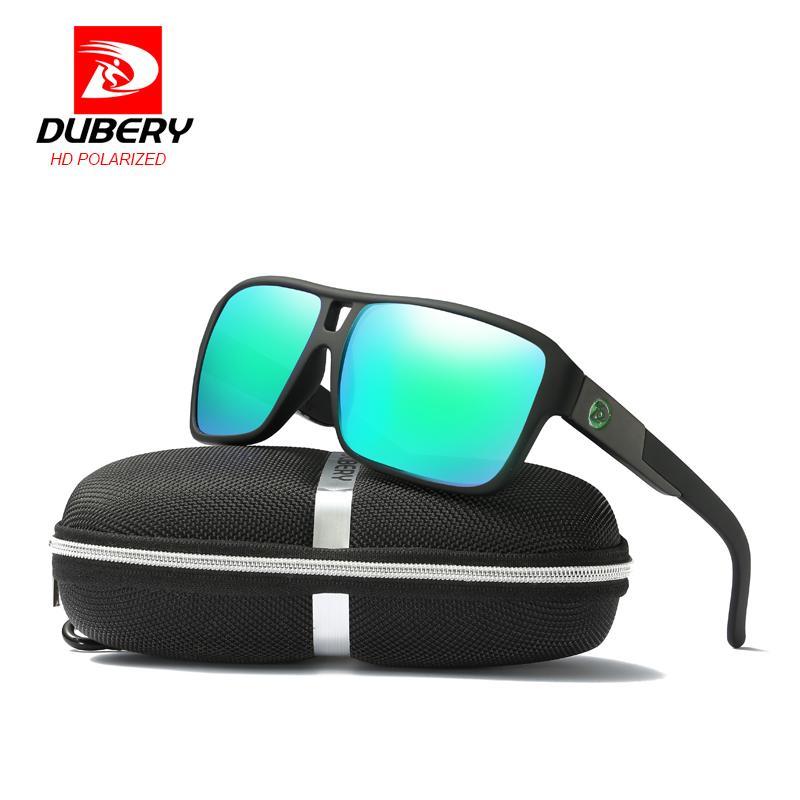 Compre DUBERY 2018 Polarizada Óculos De Sol Dos Homens Da Aviação Condução  Óculos De Sol Dos Homens Das Mulheres De Pesca Esportiva De Luxo Designer  De ... 654343dd15