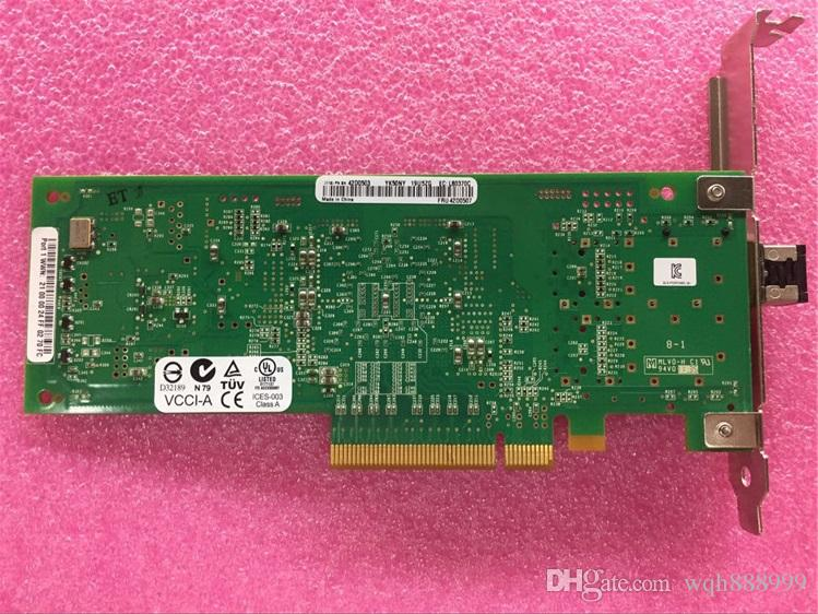 100% de trabajo para Qlogic QLE2560-IBMX IBM 42D0501 42D0507 42D0503 8 Gb FC HBA Dell BR825 HBA 8G 5GYTY Qlogic QLE2562 8 Gb
