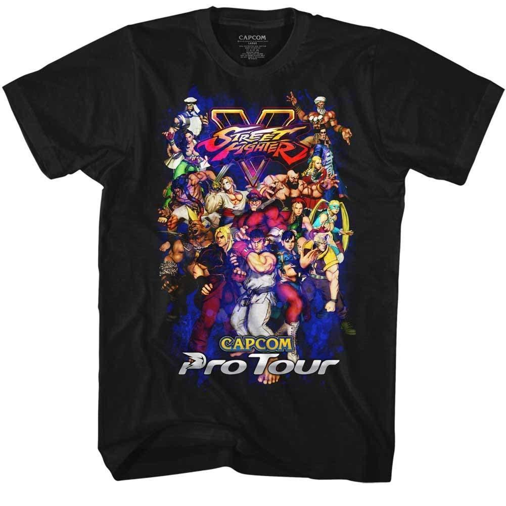 101b3f39 Street Fighter Video Martial Arts Game Pro Tour Men'S Adult Graphic T Shirt  Tee One Tee A Day Random Graphic Tees From Crazytomorrow40, $11.58   DHgate.Com