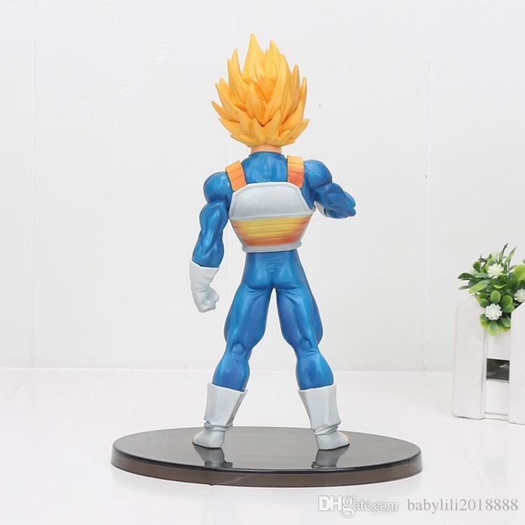 20cm DRAGON BALL Z vegeta Figure Super Saiyan SCultures big 6 special version pvc figure action model toy kids gifts