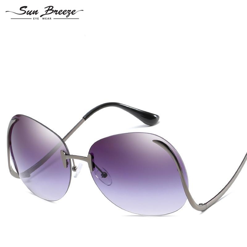 e0e7f3ea572 2018 High Quality Brand Designer Classic Mens And Women Pure Rimless Glasses  Frames Optical Ultra Light Frameless Eyeglasses Frame UV400 Round Sunglasses  ...