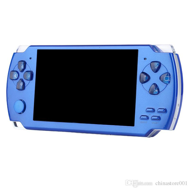 X6 Handheld Mini Game Console Portable 8GB Memory 4.3inch Screen Pocket Size Classic Game Console With Classic Games Camera