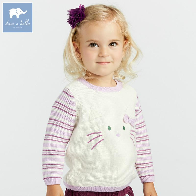 Compre Dba8087 Dave Bella Bebé Suéter De Moda Suéter De Los Niños ...