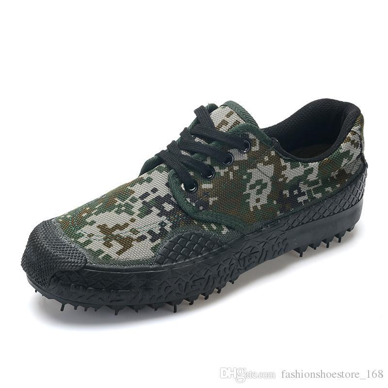 e77d5c3d06e1 New Men Boots Natural Rubber Soles Camouflage Canvas Shoes Men ...