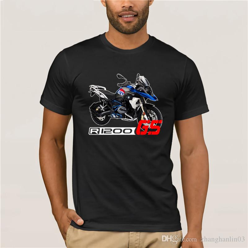 9e825ab0196d 100% Cotton Short Sleeve Design T Shirt R 1200Gs F800GS Lc Rally Brand New  High Quality Motorcycle Adventure Tee Shirts Band T Shirts T Shirt Designs  From ...