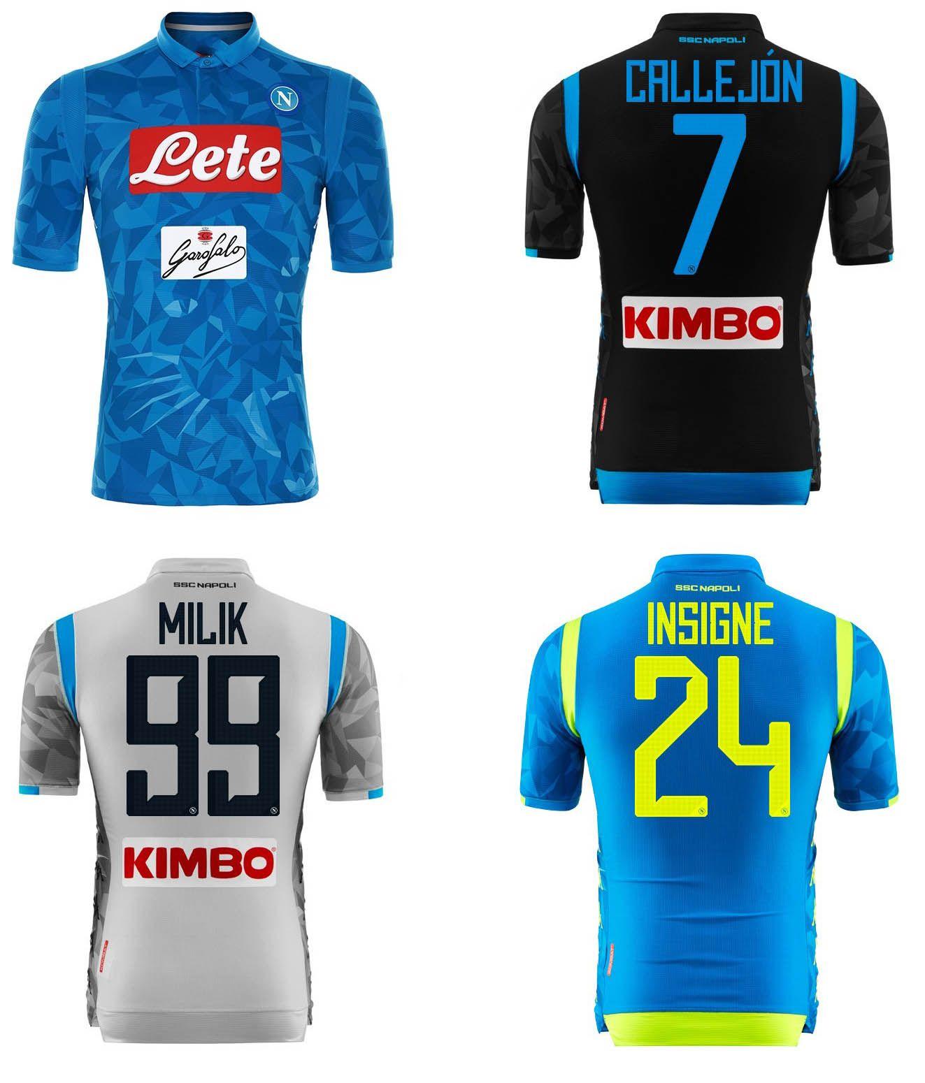 2018 2019 Napoli Camisetas De Fútbol Nápoles Inicio Fútbol Azul Camisetas  18 19 HAMSIK L.INSIGNE PLAYER MERTENS Camisetas De Fútbol Uniformes  Deportivos Por ... d9f8d7f005a32
