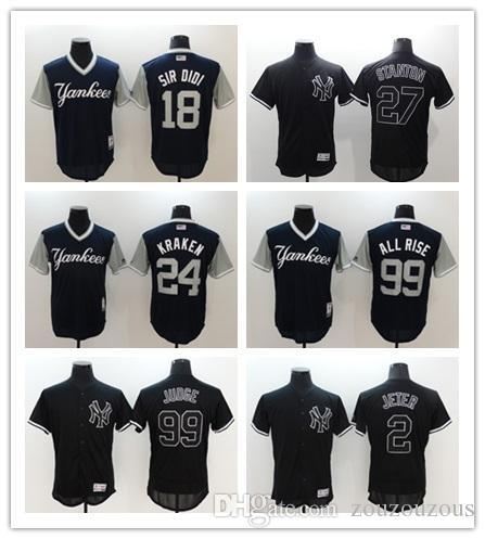 finest selection cc32e af9fd New York Mens Yankees jersey 25 Gleyber Torres 40 Luis Severino 99 Aaron  Judge Women Youth Baseball Jerseys