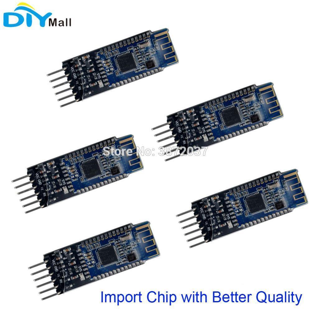 5pcs/lot HM-10 Bluetooth 4 0 BLE CC2541 Serial Uart Transceiver Module for  Arduino