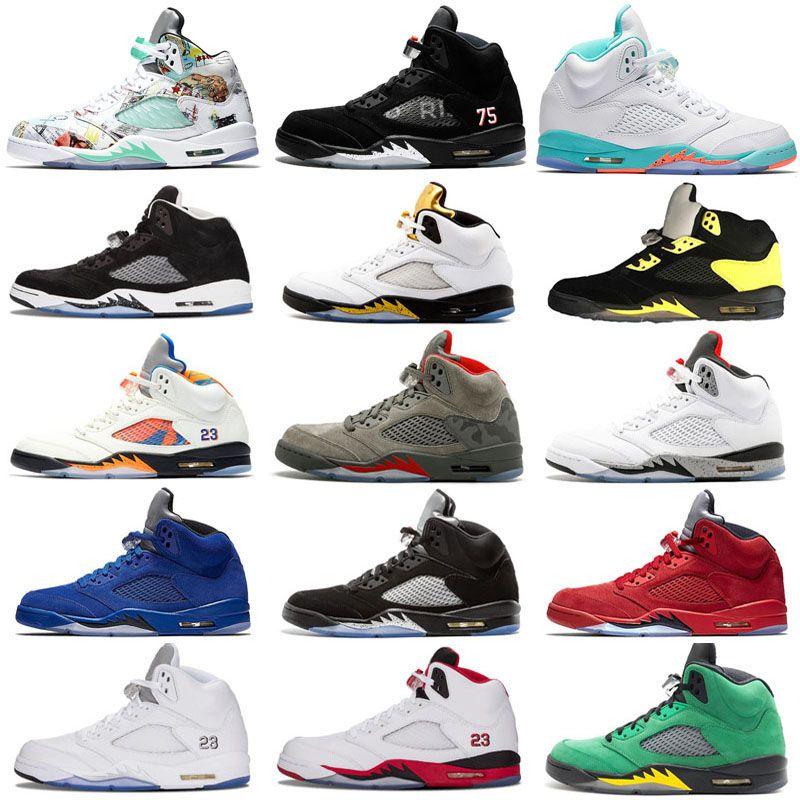 94ca1e1e9e2f14 Light Aqua Laney 5 Men Women Basketball Shoes 5s International ...