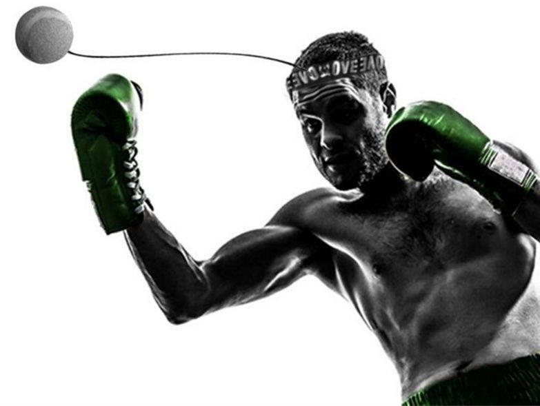 50 unids Equipo de Boxeo Velocidad de Punching Pelota de Boxeo Accesorio Bolas de Velocidad Boxeo Entrenamiento Deportes de Fitness Mejorar la Capacidad de Respuesta Rápida