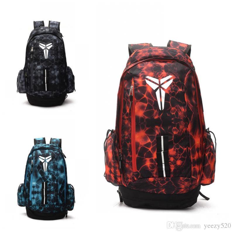 New Style Kobe Basketball Backpack Laptop Bag Outdoor Packs Mens Schoolbag  Large Capacity Back To School Season Backpack Dog Backpack Backpacks For  Women ... 2cdde106a7ee3
