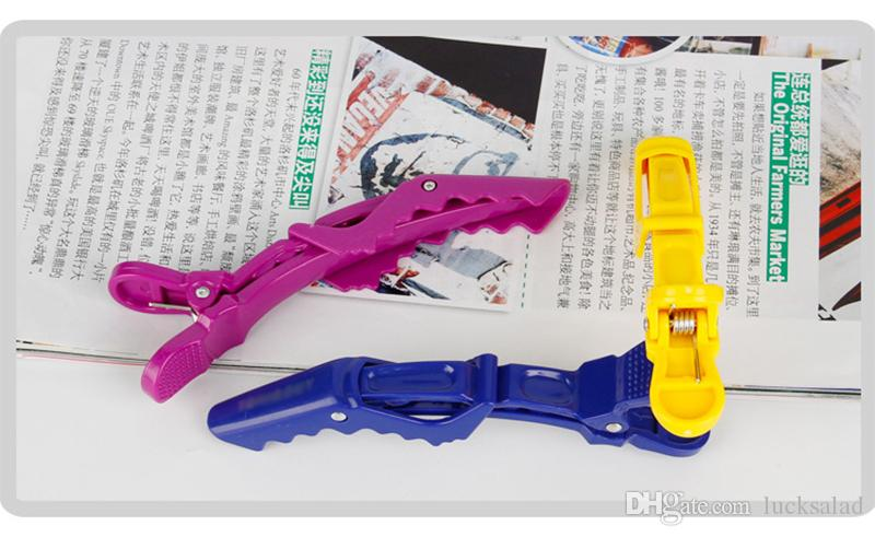 Mini Alligator Duck Hairdressing Clips Section Hair Grip Clamps Styling Design Parts Hairstyle Tool