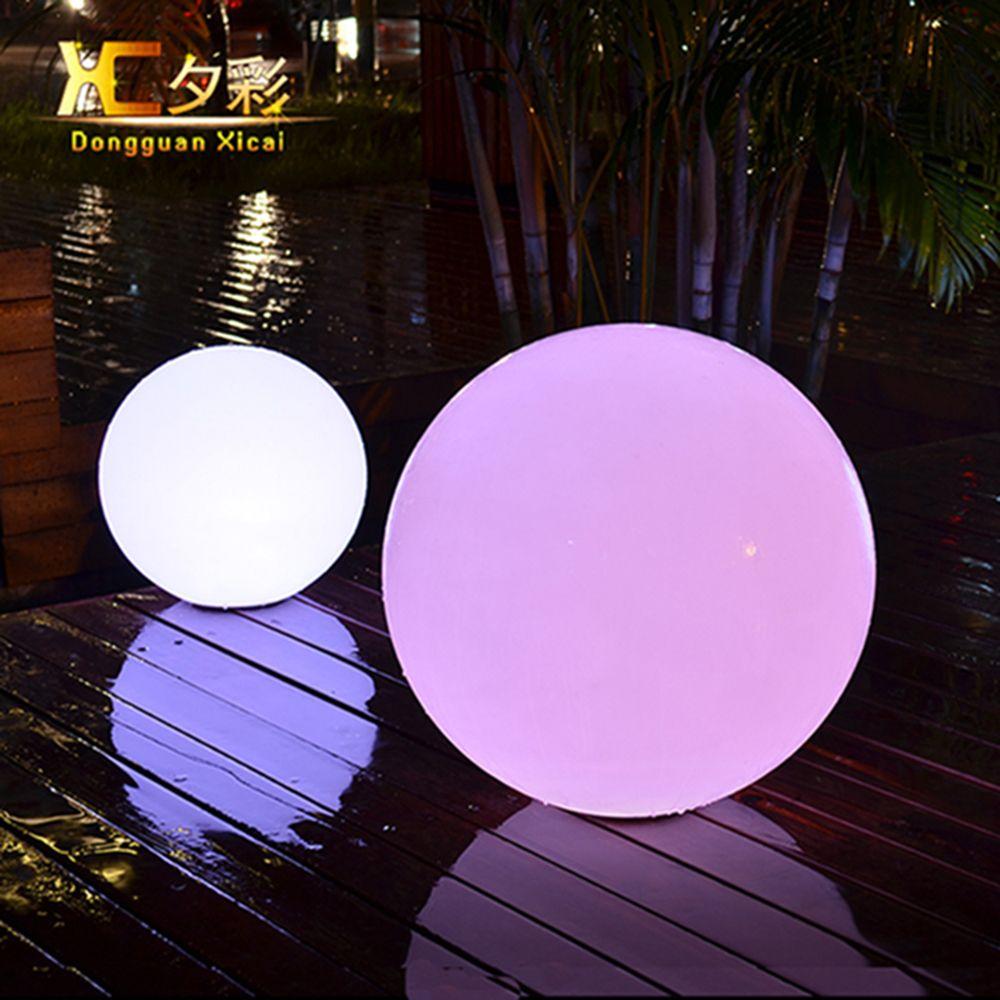 Illuminated Outdoor Spheres Outdoor Lighting Ideas