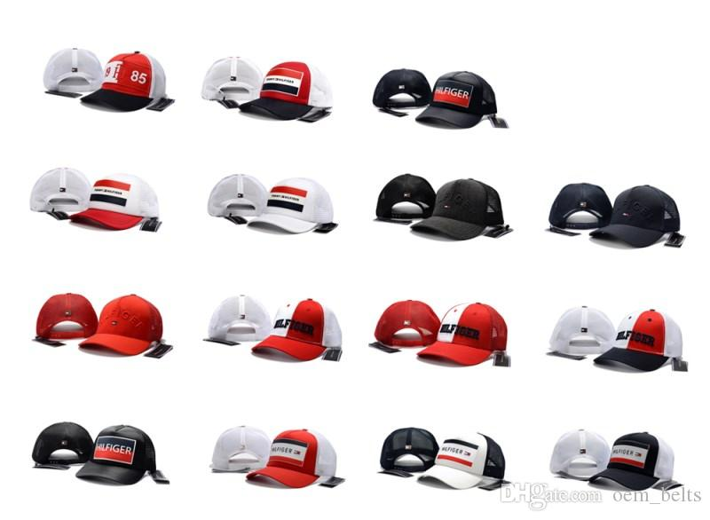 Letters Curved Baseball Caps Adjustable Mesh Ball Hats For Summer Visor Cap  High Quality Female Male Golf Hats Popular Snapback Hat Dad Caps Flexfit  Caps ... 7a4d66babee8