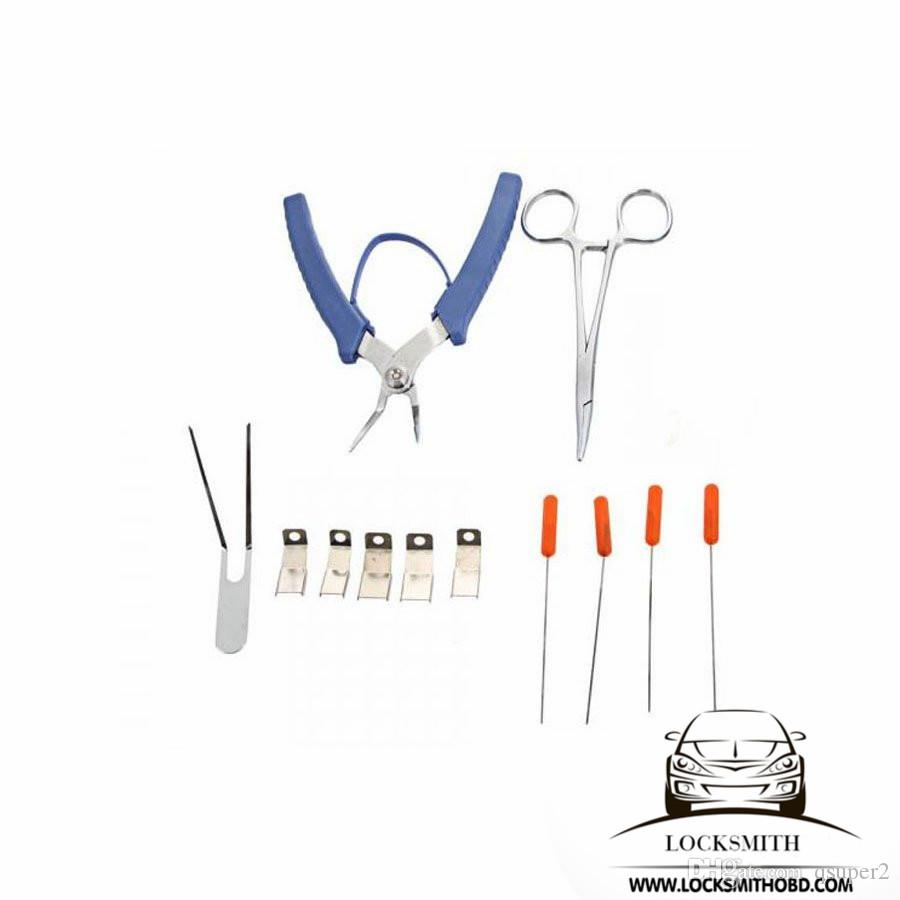 Choisissez l'outil clé cassé, Klom Master Broken Key Extractor Kit.