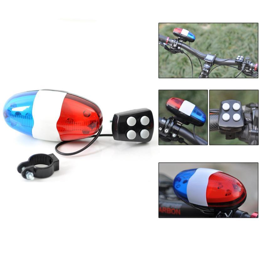 6 Sound Bicycle Cycling Electronic Bike Handlebar Ultra Loud Ring Bell Horn EB