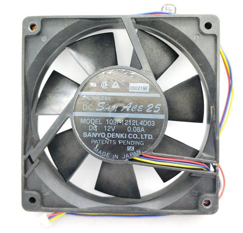 109P1212L4D03 12025 12 V.44A 4710NL-04W-B49 CPU Cooler Heatsink Wentylator chłodzący