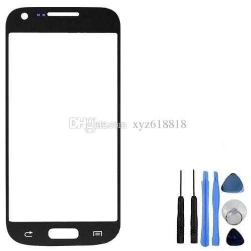 New Replacement LCD Front Touch Screen Panel Outer Glass Lens For Samsung Galaxy S4 Mini i9190 i9195 i9192