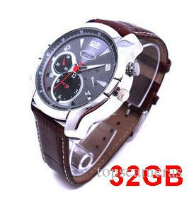 Q5 Watch Mini Camera DVR 32GB HD 1080P with IR Night Vision function HD Waterproof Free Shipping