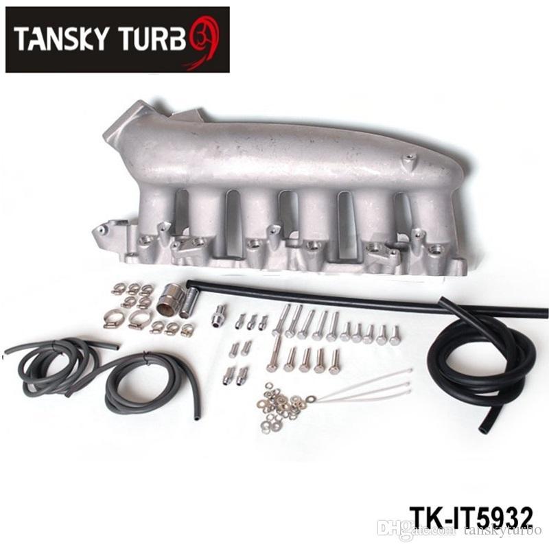 Tansky - för Nissan RB25 ECR33 Cast Aluminium Turbo Intake Manifold JDM High Performance TK-it5932 har på lager