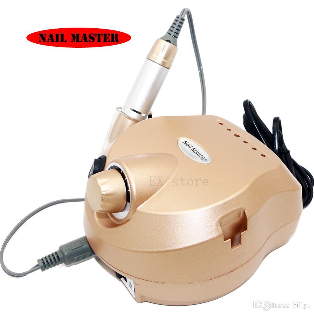 Rose Gold Electric Nail Drill Machine 30000rpm Manicure Machine ...