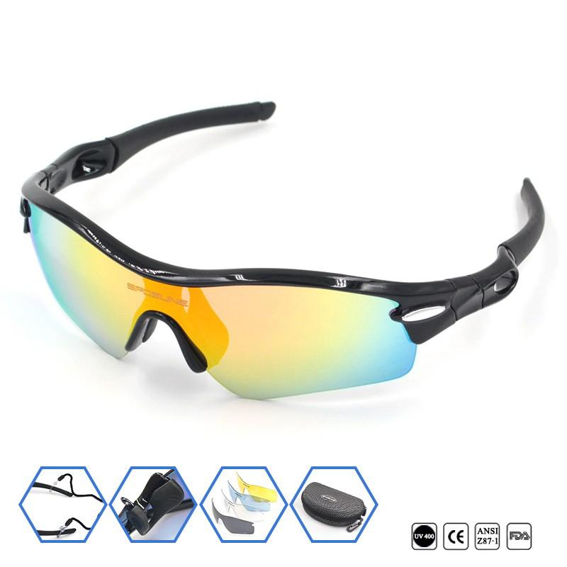 477ed0236451 New Polarized Glasses Sport Sunglasses UV400 Antiglare Myopia Frame ...