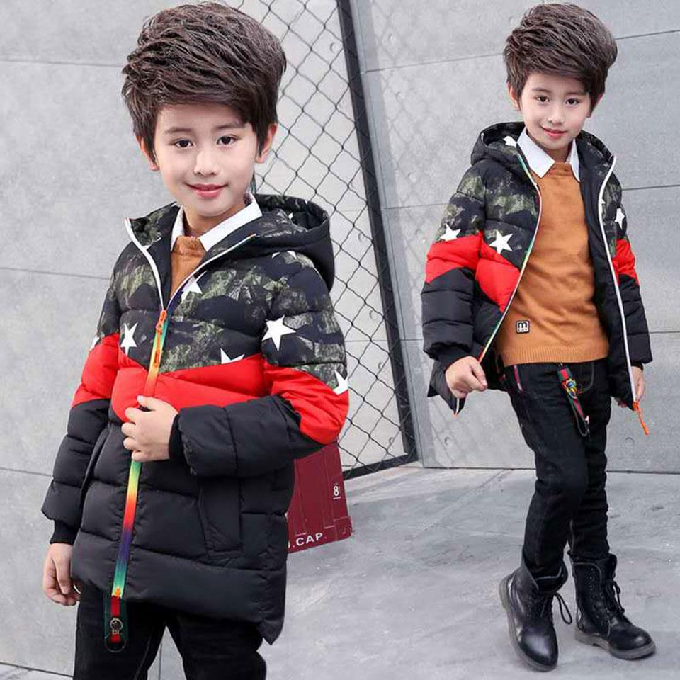 d7782773004c Children S Winter Clothes Kids Down Cotton Coat Cool Outwear For Boy ...