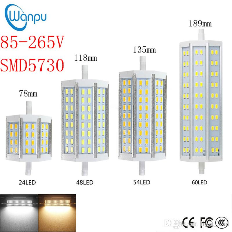 R7s Led Corn Light Smd5730 7w 12w 15w 18w 78mm 118mm 135mm 189mm Led