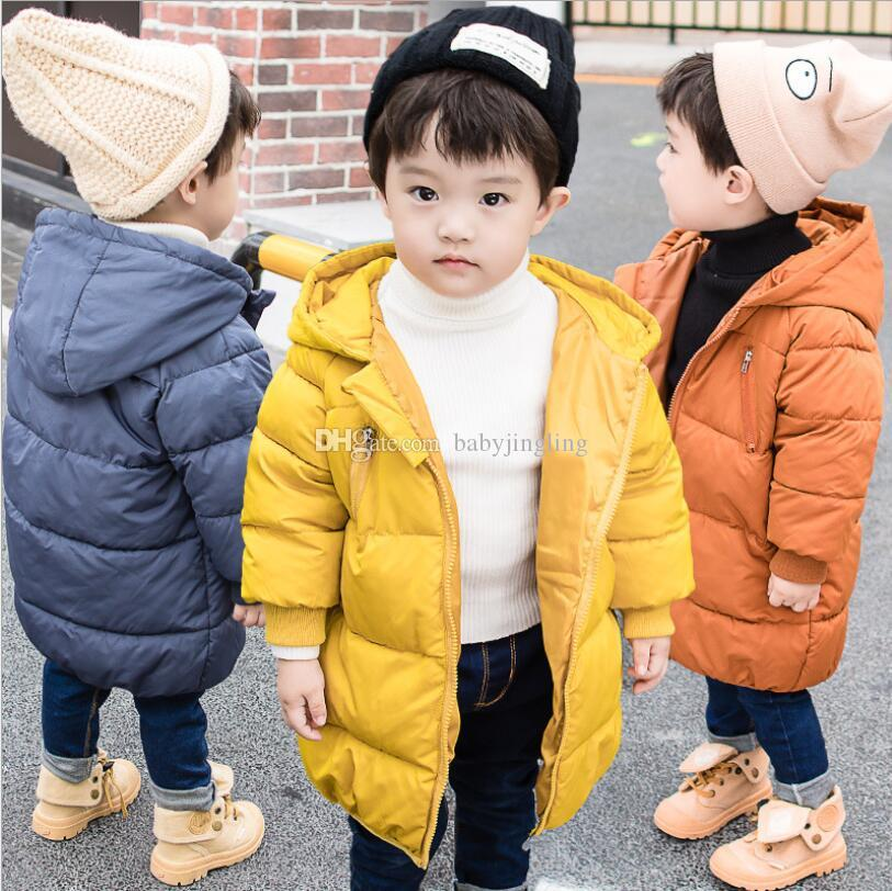 9cd9d113f6c9 2018 Baby Boys Girls Jacket Autumn Winter Jacket For Boys Children ...