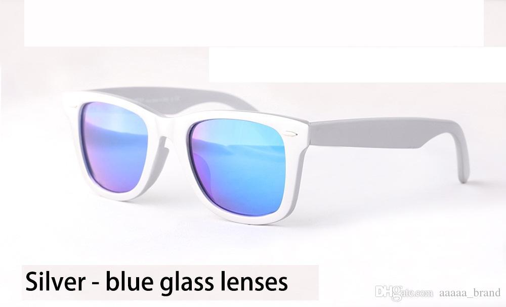 vaka ve kutu ile erkekler kadınlar için yeni varış Marka Tasarımcı moda tahta çerçeve Metal menteşe güneş gözlüğü 50 / 54mm UV400 Ayna cam mercek