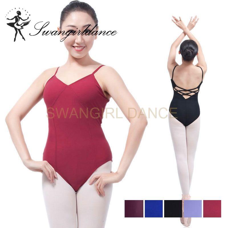 593473788 2019 Women Lilac Dance Ballet Camisole Leotard For Girls ...