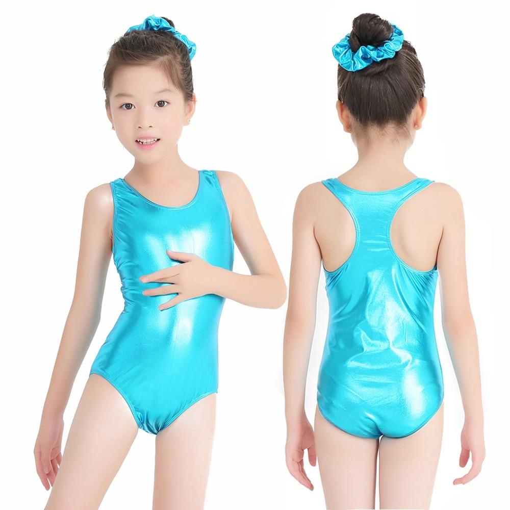 137d99dc3ce1 2019 Speerise Shiny Metallic Toddler Girl Ballet Dance Leotards ...