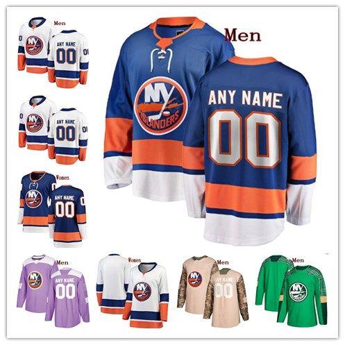 0e633f25d 2019 Custom New York Islanders Thomas Hickey Josh Bailey Casey Cizikas  Brock Nelson Any Name Any Number Mens Women Youth Hockey Stitched Jersey  From Gamemen ...