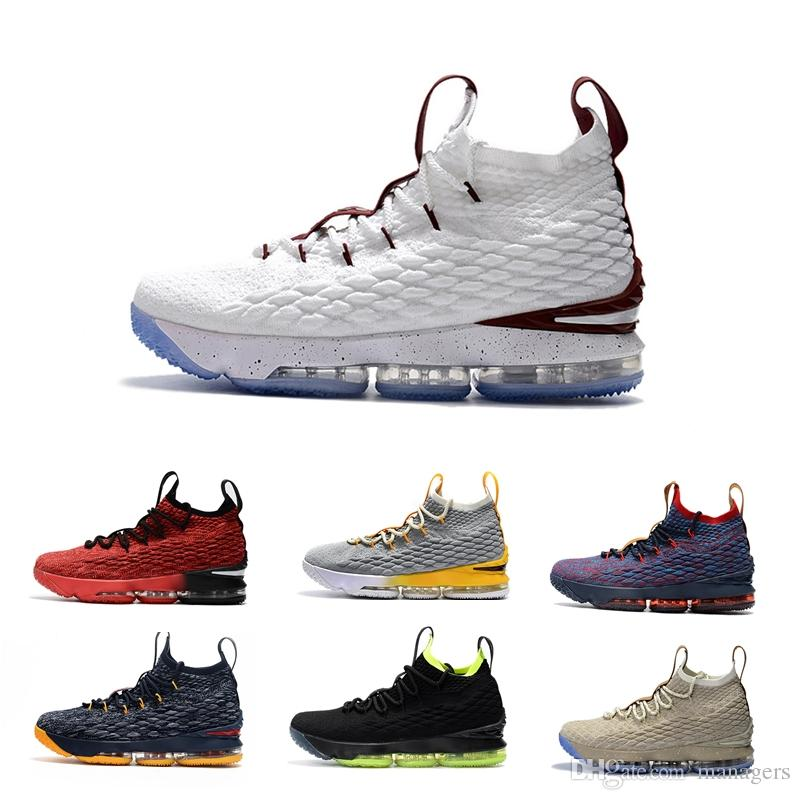 b212a0bd88c 2019 Best 15 Basketball Shoes For Men Mens 15s Equality Fly Breathable Knit  Boots XV Gold White Grey Foam Training Sneakers 40 46 From Managers