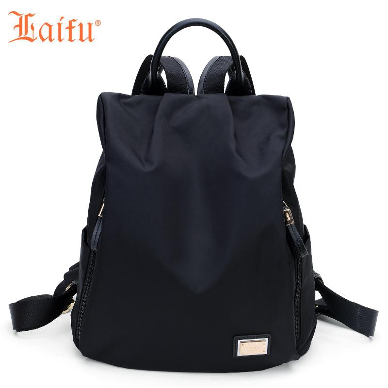 f477a76dcd Laifu Fashion Women Bacpack High Quality College Schoolbag Korean ...