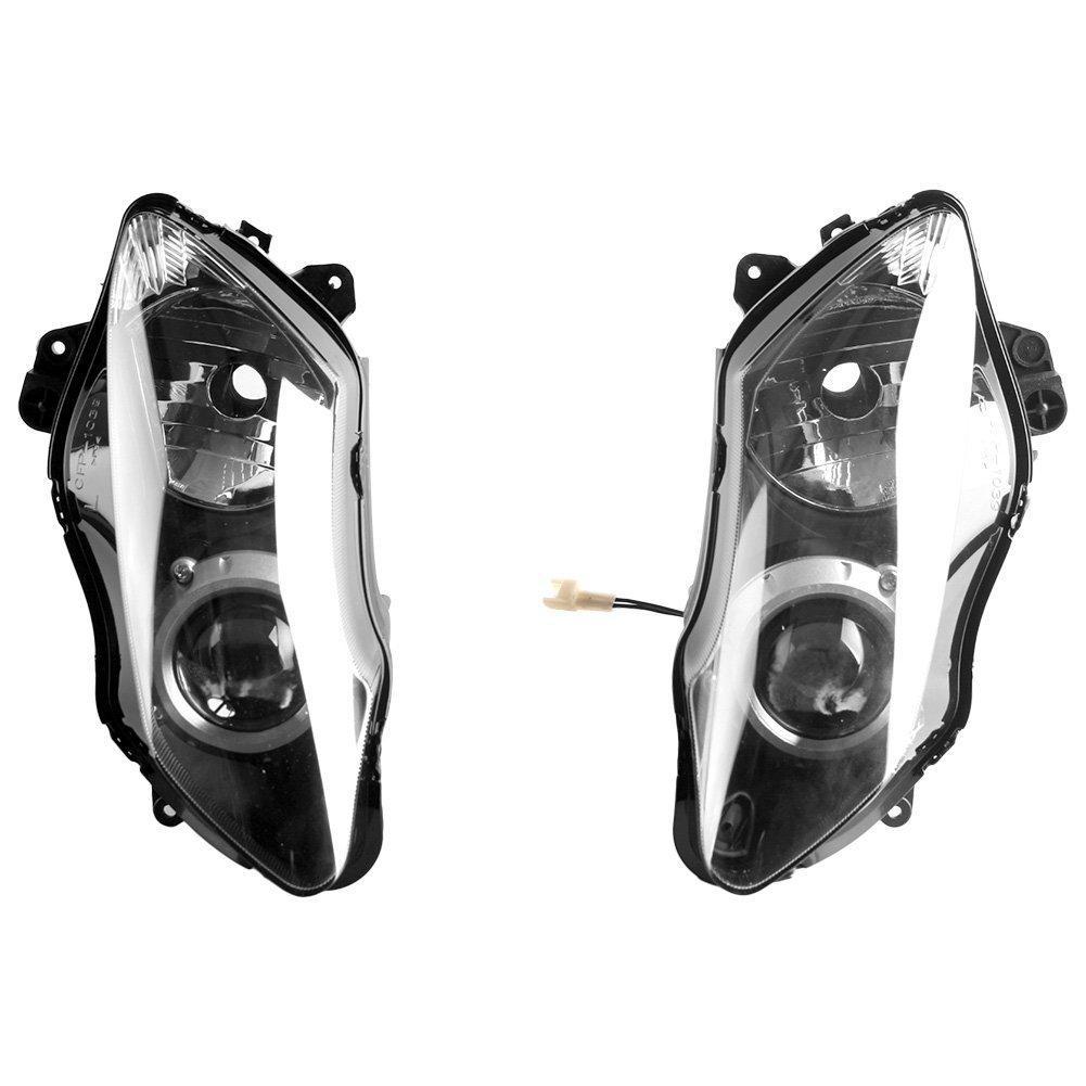 Motorcycle Headlight For Yamaha Yzf R1 2007 2008 Head Light Lamp 07 08 Front Lighting