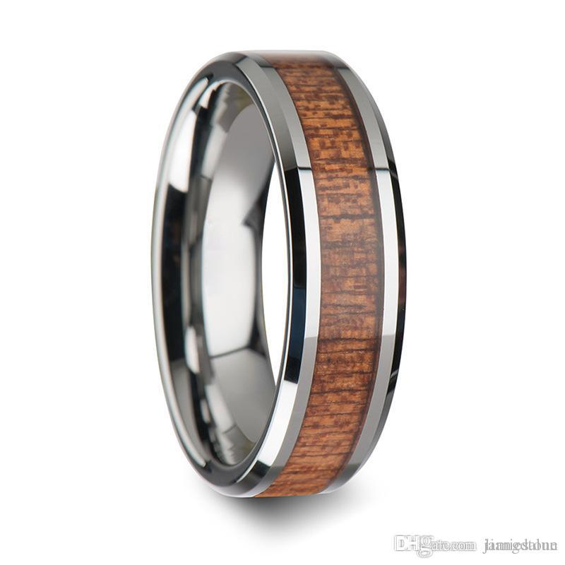 Design Your Own Ring: Design Your Own Stainless Steel Ring Secret Resin Wood