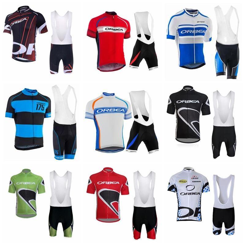 7adc391c7 2018 ORBEA Summer Men Cycling Jersey Set Short Sleeve Road MTB Cycling Wear  Bicycle Clothes Cycling Gear High Quality Bike Sportswear 90518J Retro  Cycling ...