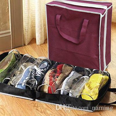 Precise Trendy Waterproof Laundry Shoe Travel Wash Bag Zip Tote Storage Pouch Organiser Storage Bags