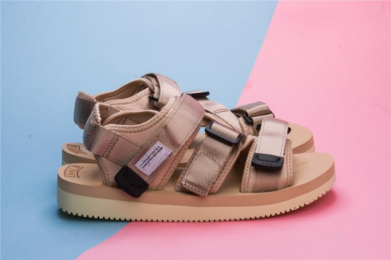 f3305940b885 Nice Quality Stussy X Suicoke OG 056STU   MOTO STU Summer Trip Fest Olive  Camo Sole Sandals Slides SUICOKE KISEEOK 044V With Box Black Wedges  Platform Shoes ...