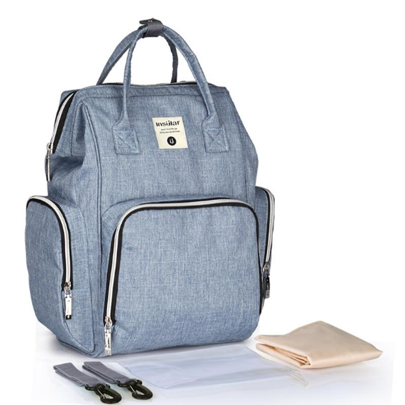 9ac641ef63ebe 2019 Fashion Mummy Diaper Bag Large Baby Bag Maternity Travel Backpack  Designer Nappy Changing Backpack Baby Care From Laurul