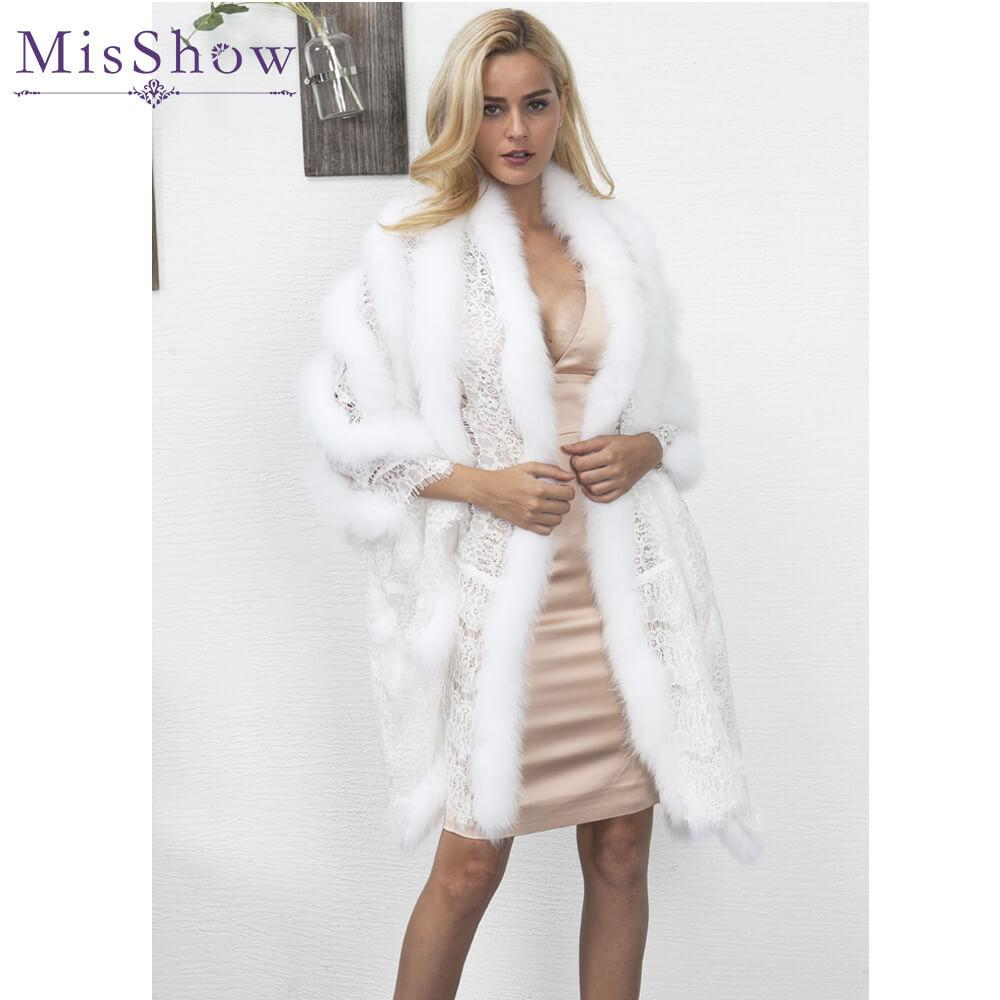 1c9ca6bb4562 2019 Womens Black White Fluffy Faux Fur Coats Jackets 2017 Fake Fur Coats  Women Winter Warm Coat Cape Female Outerwear One Size From Brry