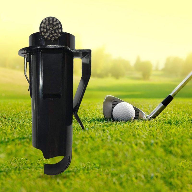 2019 New Outdoor Portable Lightweight Golf Ball Tee Holder Golf Pro