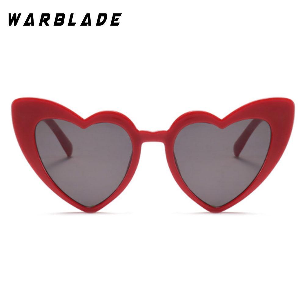 d3ac1ff179105 Compre 2018 Coração Óculos De Sol Das Mulheres Designer De Marca Olho De Gato  Óculos De Sol Retro Amor Em Forma De Coração Óculos Senhoras Compras Óculos  De ...